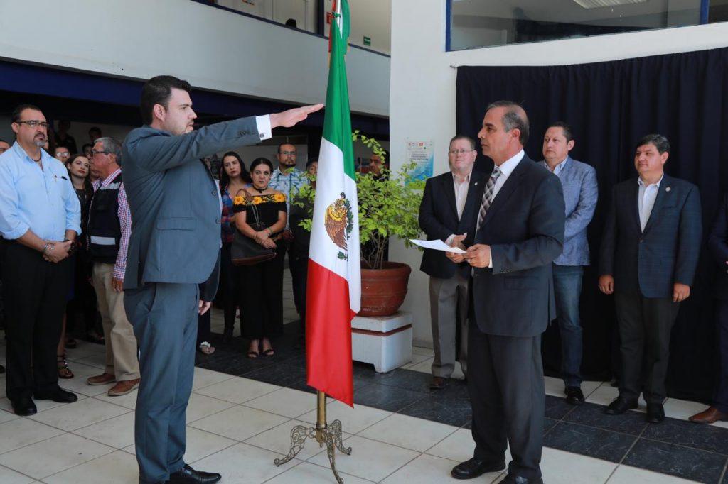 Antonio Bracho, director de Seguridad Pública