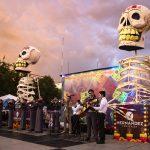 Se inaugura Monumental Altar de Muertos en honor a víctimas de COVID-19